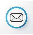 correspondence icon symbol premium quality vector image