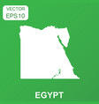 egypt map icon business concept egypt pictogram vector image vector image