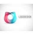 logo Universal Emblem vector image vector image