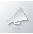 Megaphone oudspeaker icon Loud-hailer symbol vector image vector image