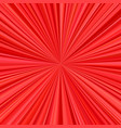 red explosion background from radial stripes vector image vector image