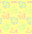 seamless pattern in pastel tones hand drawn vector image vector image