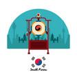 south korea culture vector image vector image