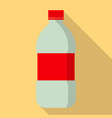 water bottle icon flat style vector image vector image