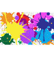 abstract background of colored blots vector image vector image
