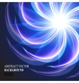 abstract glowing element vector image vector image