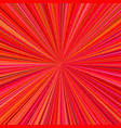 abstract radial stripes background - ray burst vector image vector image