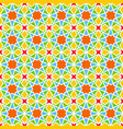 background with seamless pattern in colorful vector image