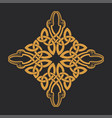 celtic knot ethnic ornament t-shirt print vector image