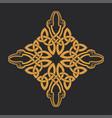 celtic knot ethnic ornament t-shirt print vector image vector image