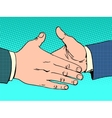 Deal handshake business concept vector image vector image