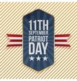 Eleventh September Patriot Day Emblem