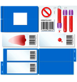 Hematology Test Complete Set vector image vector image