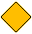 Isolated blank yellow sign vector | Price: 1 Credit (USD $1)
