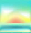 Mesh background with green and orange and sunrise