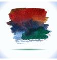 watercolor decorative wash drop vector image vector image