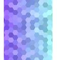 Abstract hexagonal tile mosaic background design vector image vector image