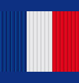 french flag vector image