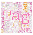 Role of Meta Title Tag in SEO text background vector image vector image
