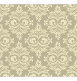 Abstract damask pattern vector image