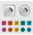 Automobile brakes single icon vector image vector image
