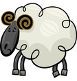 Cartoon of ram or sheep vector image vector image