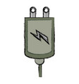 cellphone charger device vector image