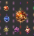 disco ball discotheque music party night club vector image vector image