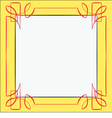 frame Element for design vector image vector image