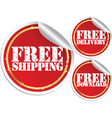 Free shipping free delivery and free download vector image vector image