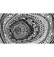 line art abstract entangle design vector image vector image