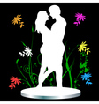 man and womanc vector image vector image