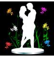 man and womanc vector image