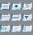 Professional business presentation template