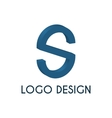 Stock logo letter s 3d vector image vector image