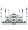 The Blue Mosque Turkey Istanbul vector image vector image