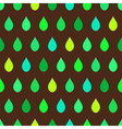 Green Tone Rain Brown Background vector image vector image