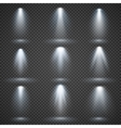 light sources concert lighting stage vector image vector image