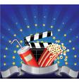 movie premier vector image vector image