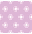 pastel floral seamless pattern vector image vector image