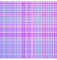Plaid lilac turquoise pattern vector image