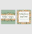 set for wedding invitation greeting card save vector image