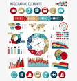 Vacation and travel infographics template vector image vector image
