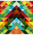 Abstract colorful triangle pattern background vector image