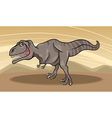 Cartoon of tyrannosaurus dinosaur vector | Price: 1 Credit (USD $1)