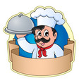 chef theme image 5 vector image vector image