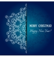 element holiday snowflake vector image vector image