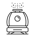 humidifier icon outline style vector image vector image
