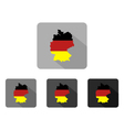 map germany vector image vector image