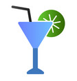 martini flat icon drink color icons in trendy vector image vector image